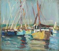 Juliya-Zhukova-Landschaft-See-Meer-Natur-Wasser-Moderne-Impressionismus