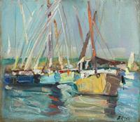 Juliya Zhukova, Boats in Luxor