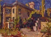 BelS, Southern town, Landschaft: Sommer, Realismus, Expressionismus