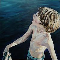 Daniel-Wimmer-Menschen-Kinder-Situationen-Moderne-Impressionismus-Neo-Impressionismus
