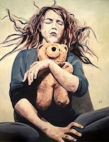 Daniel-Wimmer-Menschen-Kinder-Menschen-Frau-Moderne-Expressionismus-Neo-Expressionismus