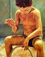 Daniel-Wimmer-Menschen-Kinder-Menschen-Portraet-Gegenwartskunst-Neo-Expressionismus