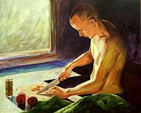 Daniel-Wimmer-Menschen-Mann-Menschen-Portraet-Gegenwartskunst-Neo-Expressionismus
