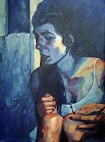 Daniel-Wimmer-Menschen-Frau-Menschen-Gesichter-Gegenwartskunst-Neo-Expressionismus