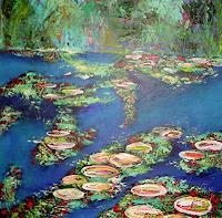 Hiltrud-Schick-Landschaft-See-Meer-Natur-Wasser-Moderne-Impressionismus