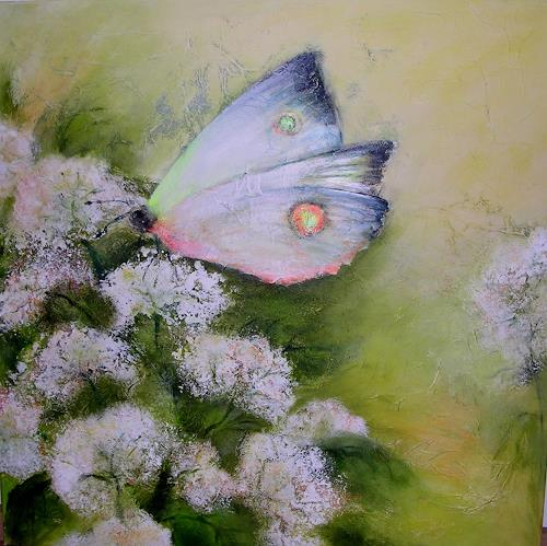 Hiltrud Schick, Schmetterling flieg, Natur: Diverse, Tiere: Luft, Gegenwartskunst, Expressionismus