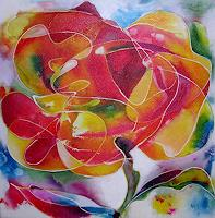Hiltrud-Schick-Pflanzen-Blumen-Natur-Diverse-Gegenwartskunst-Gegenwartskunst