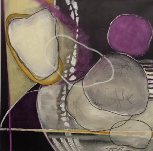 Hiltrud Schick, steinreich, Abstraktes, Dekoratives, Gegenwartskunst, Expressionismus