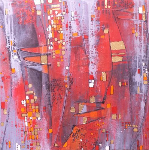 Hiltrud Schick, ohne Titel, Abstraktes, Dekoratives, Gegenwartskunst