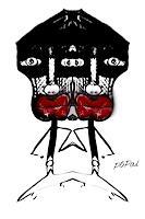 Popals-Own-Abstraktes-Abstraktes-Moderne-Naive-Kunst