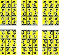 Popals-Own-Abstraktes-Abstraktes-Moderne-Pop-Art