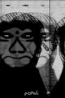 Popals-Own-Tod-Krankheit-Abstraktes-Moderne-Abstrakte-Kunst