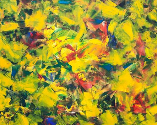Catrin Mueller, Sinfonie, Abstraktes, Colour Field Painting