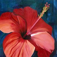 Ruth-Tellenbach-Dekoratives-Pflanzen-Blumen-Moderne-Fotorealismus