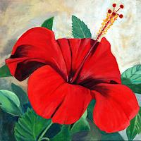Ruth-Tellenbach-Natur-Pflanzen-Blumen-Moderne-Naturalismus