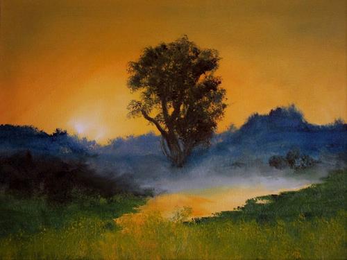 Henri Lehmann, Elfenland, Diverse Landschaften, Gegenwartskunst
