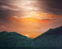 Henri-Lehmann-Landschaft-Landschaft-Fruehling-Gegenwartskunst-Gegenwartskunst