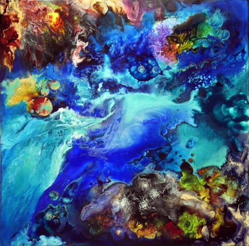 Marion Bellebna, Aqua VIII, Natur, Fantasie, Gegenwartskunst
