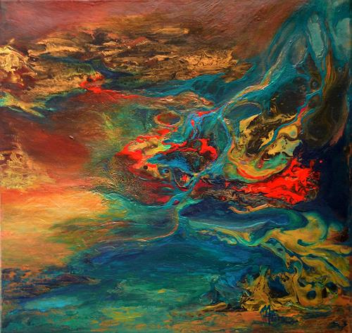 Marion Bellebna, Elemente, Abstraktes, Fantasie, Informel