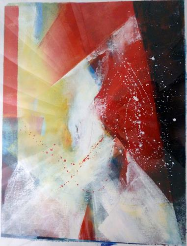 Martina Hartusch, C9, Abstraktes, Gegenwartskunst