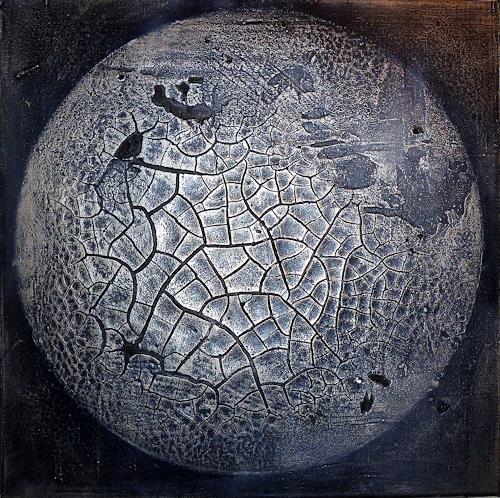 Martina Hartusch, SMC 56, Abstraktes, Weltraum, Gegenwartskunst