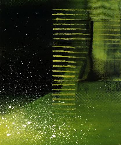 Martina Hartusch, C35, Abstraktes, Gegenwartskunst, Abstrakter Expressionismus