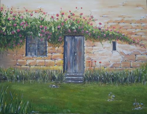Saad, Altes Haus, Wohnen: Garten, Gegenwartskunst
