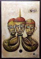 Juergen-Bley-Mythologie-Menschen-Gruppe-Moderne-Avantgarde-Surrealismus