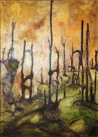 Juergen-Bley-Diverse-Landschaften-Skurril-Moderne-Avantgarde-Surrealismus