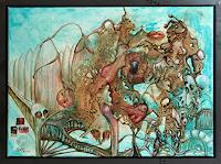 Juergen-Bley-Diverse-Erotik-Gefuehle-Liebe-Moderne-Avantgarde-Surrealismus