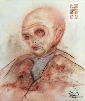 Juergen-Bley-Menschen-Mann-Menschen-Portraet-Gegenwartskunst-Gegenwartskunst