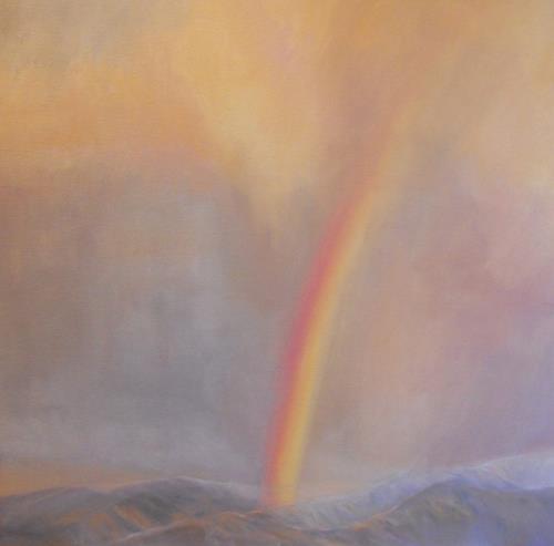 Elisabeth Ksoll, Himmelsfarben, Romantik, Poesie, expressiver Realismus