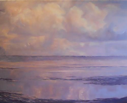 Elisabeth Ksoll, Wassermagie, Landschaft: See/Meer, Gefühle