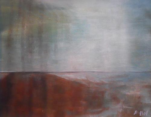 Elisabeth Ksoll, Landende, Landschaft: See/Meer, Gefühle