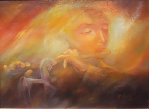 Elisabeth Ksoll, Zauber der Musik, Musik, Gefühle, Abstrakte Kunst