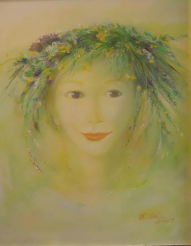 Elisabeth Ksoll, Primavera, Fantasie, Gefühle, Abstrakte Kunst, Expressionismus