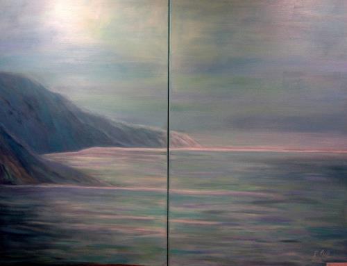 Elisabeth Ksoll, Finistere, Landschaft: See/Meer, Gefühle