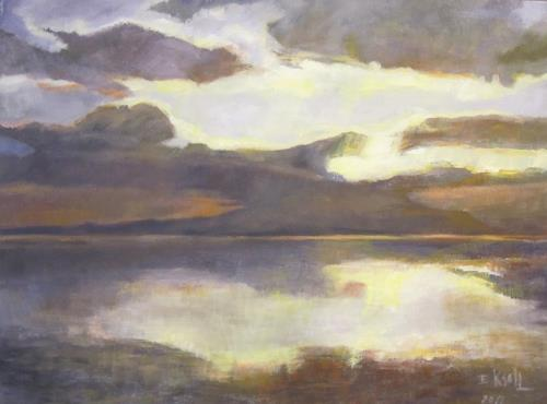 Elisabeth Ksoll, Natur, Landschaft: See/Meer, Gefühle