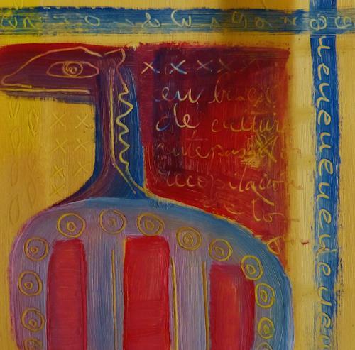 Gabriela Arellano, o.T., Abstraktes, Diverses, Informel