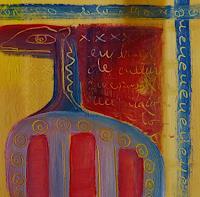 Gabriela-Arellano-Abstraktes-Diverses-Moderne-Abstrakte-Kunst-Informel