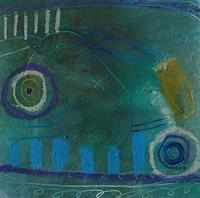 Gabriela-Arellano-Abstraktes-Moderne-Abstrakte-Kunst-Informel