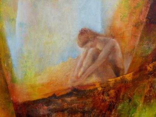 Angelika Frank, Jane, Akt/Erotik: Akt Frau, Märchen, Expressionismus