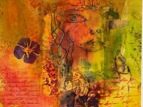 Angelika Frank, Abstrakt Bunt I, Abstraktes