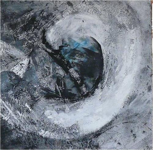 ReMara, Serie Grau, Abstraktes, Gegenwartskunst, Abstrakter Expressionismus