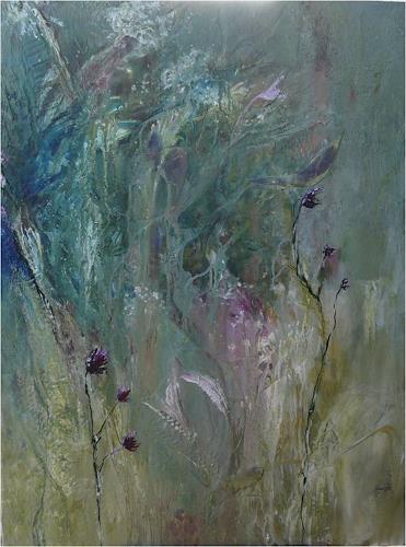 ReMara, Wiesentraum, Pflanzen: Blumen, Fantasie, Gegenwartskunst, Expressionismus