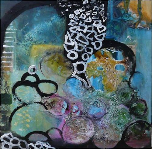 ReMara, ......ich mach mir die Welt, widewide......, Fantasie, Gesellschaft, Gegenwartskunst, Abstrakter Expressionismus