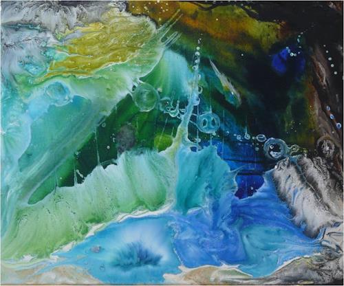 ReMara, Wasserlust, Fantasie, Natur: Wasser, Gegenwartskunst, Expressionismus