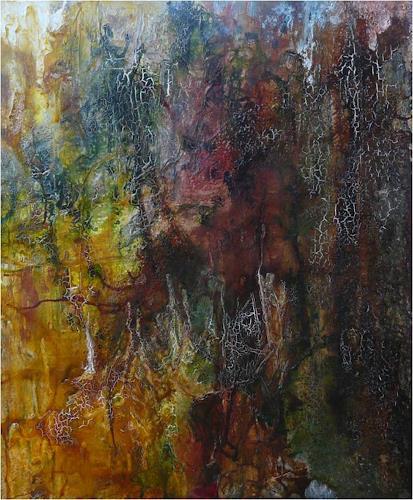 ReMara, Autumn, Abstraktes, Zeiten: Herbst, Gegenwartskunst, Abstrakter Expressionismus