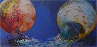 ReMara-Symbol-Diverse-Weltraum-Gegenwartskunst-Gegenwartskunst