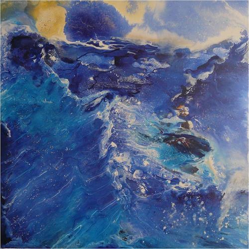 ReMara, Meeressturm, Abstraktes, Bewegung, Gegenwartskunst, Expressionismus